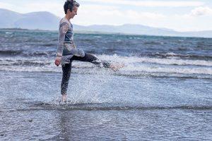 Niamh Kissane kicking water